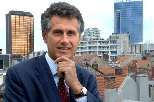 Bernard Marchant, administrateur délégué du groupe de presse belge Rossel.