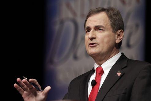 Le canidat républicain au Sénat dans l'Indiana, Richard Mourdock