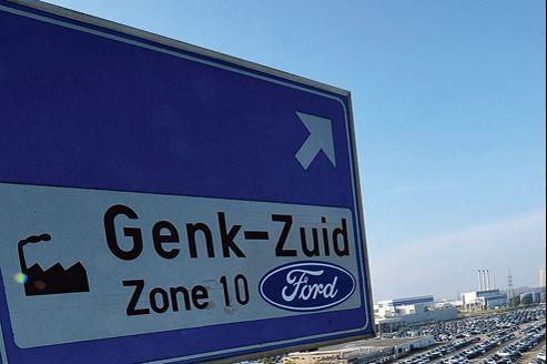 La fermeture de l'usine de Genk en Belgique entraînera la suppression de 4300 postes.