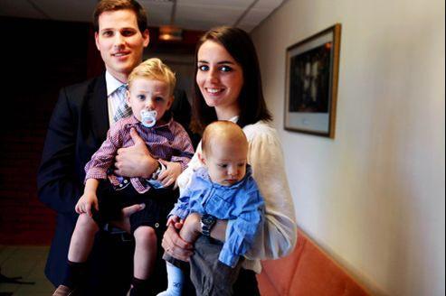 La France abrite moins de 5000 familles de mormons pratiquants. Dont celle de Valentine et Jérôme, membres de la paroisse de Versailles.