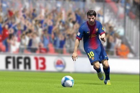 Lionel Messi est la tête d'affiche de Fifa 13.