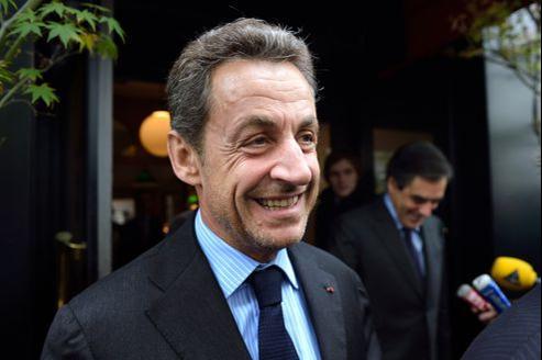 Nicolas Sarkozy, en octobre dernier.