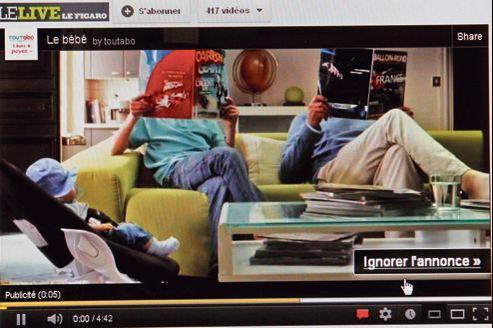 La pub vidéo, relais de croissance sur Internet