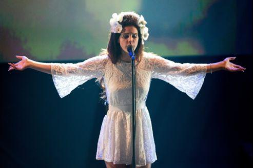 Lana Del Rey au festival de jazz de Montreux.