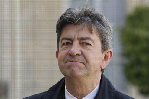 Jean-Luc Mélenchon, coprésident du Parti de gauche. Crédit: Sébastien Soriano/Le Figaro
