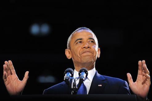 Barack Obama, 44e président des États-Unis est réélu pour quatre ans.