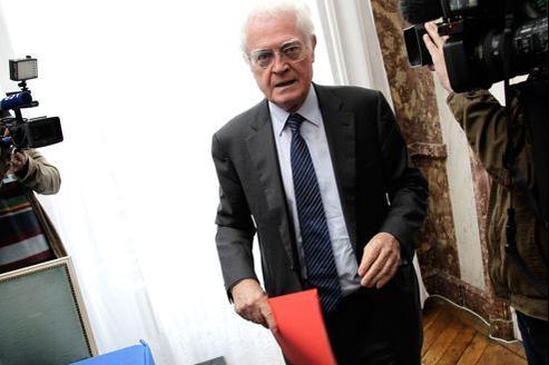 Lionel Jospin (ici à Paris, le 9 octobre) préside depuis juillet la commission de rénovation et de déontologie de la vie publique.