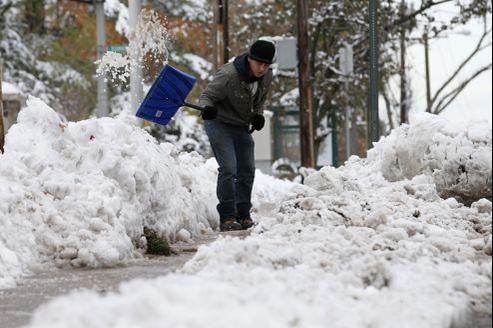 New York sous la neige, 10 jours après Sandy