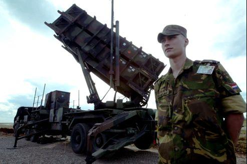 Des batteries de missiles Patriot de l'Otan en Turquie, en 2003 (Illustration).