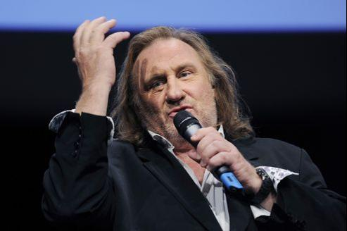 Gérard Depardieu, le 8 octobre 2011 à Lyon.