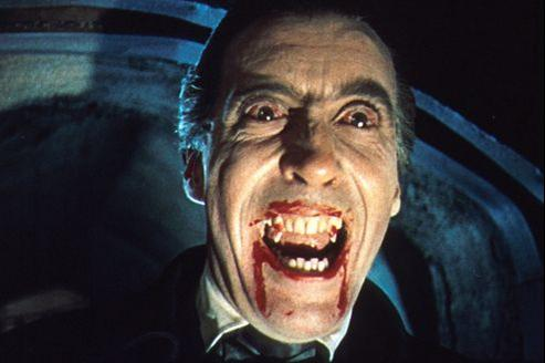 Dracula avec Christopher Lee. (DR)