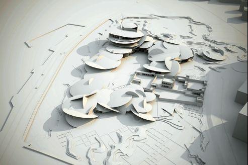 Le musée de Doha en forme de rose des sables, signé Jean Nouvel, devrait ouvrir au cours de l'année 2015.