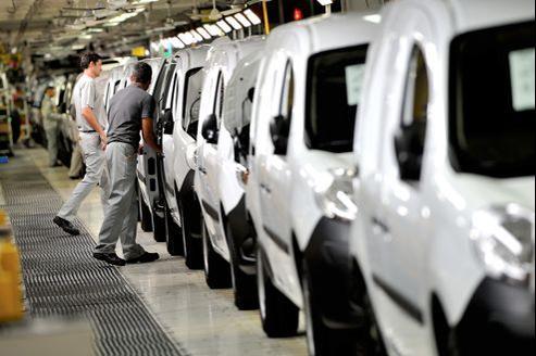 L'automobile est à la peine avec un repli de la production de -11,6% entre juillet et septembre 2012 par rapport à la même période en 2011.