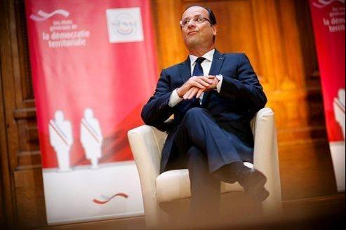 François Hollande à la Sorbonne, le 5 octobre dernier.