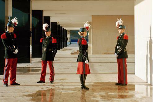 Fondée en 1802, l'école spécial militaire de Saint-Cyr forme la fine fleur des futurs officiers de l'armée de terre.