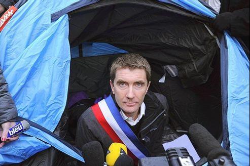 Stéphane Gatignon, maire de Sevran, a débuté une grève de la faim vendredi.