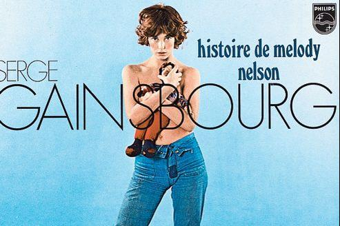 L'histoire de Melody Nelson de Serge Gainsbourg, sûrement l'un des vinyles les plus célèbres.