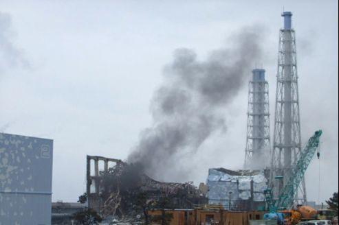 Les décombres du réacteur numéro 3 de la centrale de Fukushima, en mars 2011.