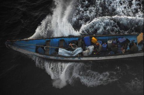 Une prise d'otage par des pirates au large des côtes somaliennes.