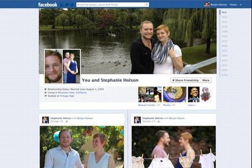 La future page Facebook pour couples fait débat sur le Web