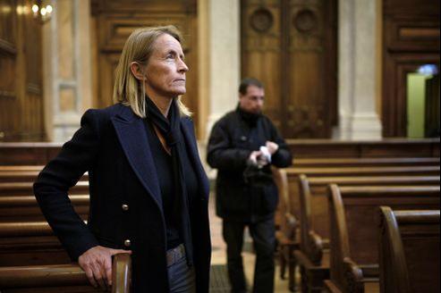 Isabelle Demongeot à la cour d'assises du Rhône le 15 novembre.