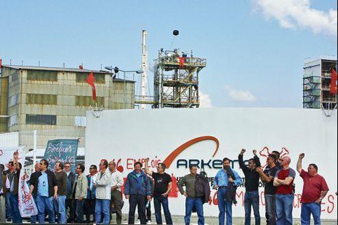 En 2007, l'usine de Pierre-Bénite avait été occupée alors qu'Arkema annonçait la suppression de 225emplois sur 574.