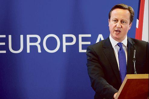 David Cameron doit maîtriser une opinion de plus en plus eurosceptique.
