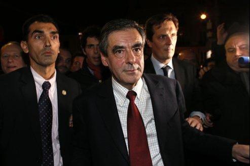 François Fillon, dimanche soir.