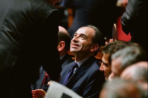 Jean-François Copé, mardi à l'Assemblée nationale, lors des questions au gouvernement.
