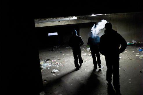 Un sous-sol d'immeuble à Sevran (Illustration).