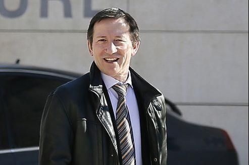 Le juge Jean-Michel Gentil, le 19 février à Bordeaux.