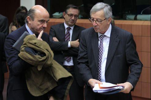 Jean-Claude Juncker, président de l'Eurogroupe, affirme qu'il «n'y a pas de désaccord politique majeur».