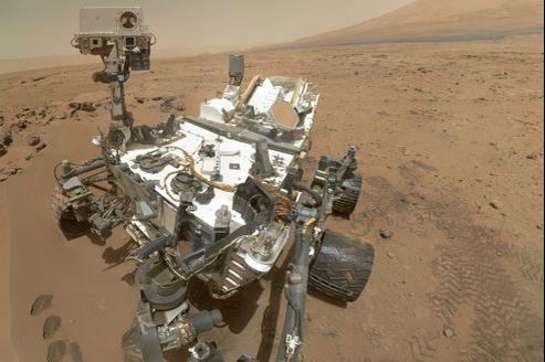 Autoportrait pris par Curiosity début novembre.