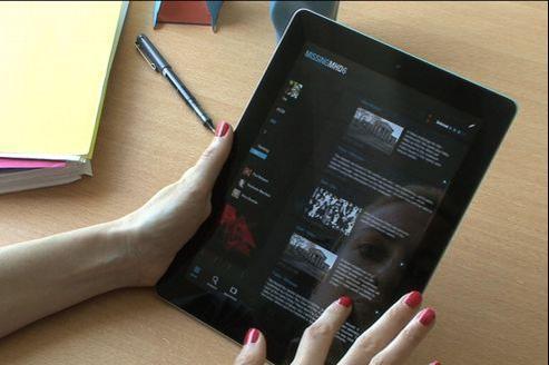 L'application Alt Minds permet de suivre en temps réel l'avancée de l'enquête