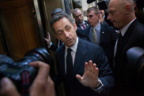 Nicolas Sarkozy, à New York, le 11 octobre dernier.