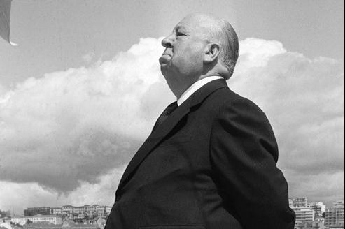 Alfred Hitchcock en mai 1972. Le meurtre était son gagne-pain.