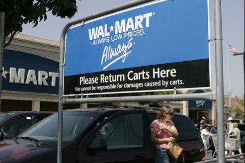 WalMart refusent de devenir «Le magasin WalMart» au Québec.