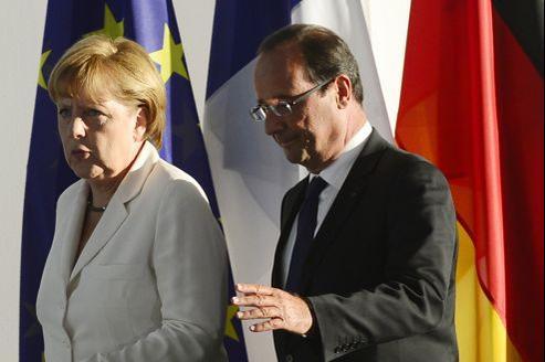 François Hollande a rendez vous avec avec Angela Merkel en fin d'après-midi