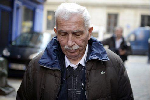L'ex-entraîneur de tennis, Régis de Camaret.