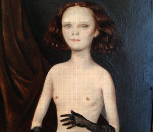 Vénus aux gants, Otto Dix, (25,9 x 20,2 cm), 1923