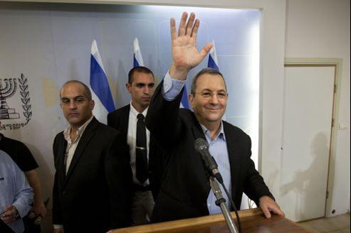 Ehoud Barak était ministre de la de la Défense depuis cinq ans, il restera en poste jusqu'en janvier 2013.