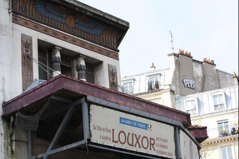 La réouverture du Louxor, bijou architectural inauguré en 1921, «sera un événement majeur du printemps 2013». Crédits photo: EMMANUEL GLACHANT / AFP