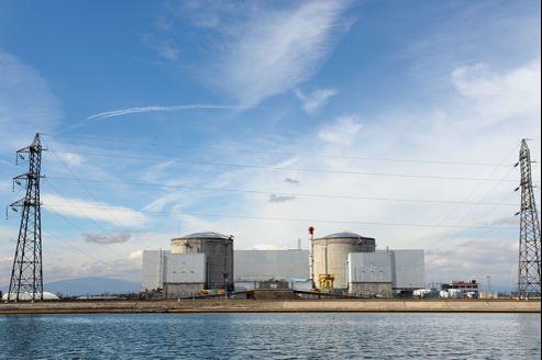 La centrale nucléaire de Fessenheim. Le baromètre de KPMG a justifié la première place de la France par son parc nucléaire, prêtant le flanc aux critiques.