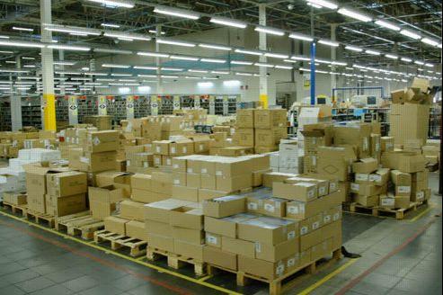 Sernan, près d'Orléans, est l'un des trois centres de distribution que possède actuellement Amazon.