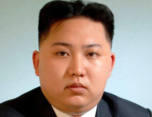 Kim Jung-un, immortalisé par l'agence de presse officielle nord-coréenne.