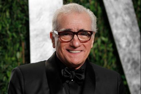 Martin Scorsese, à la soirée Vanity Fair des Oscars 2012.