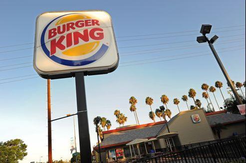Un restaurant Burger King aux États-Unis. La chaîne fait son retour en France après quinze ans d'absence.