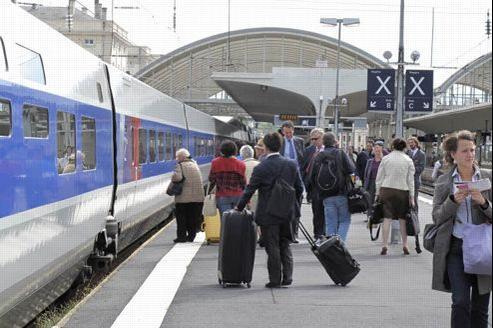 Les incivilités coûtent chaque année 35 millions d'euros à la SNCF. Crédit: François BOUCHON / Le Figaro.