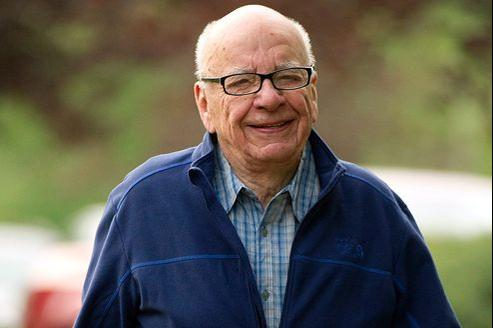 Le président de News Corp, Rupert Murdoch (ici à Sun Valley en juillet dernier) gérera en direct la nouvelle division audiovisuelle du groupe.