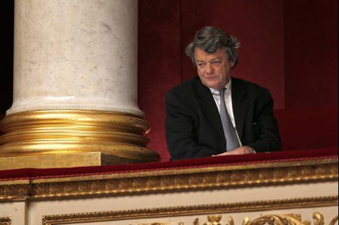 Jean-Louis Borloo, le 28 novembre, à l'Assemblée nationale.